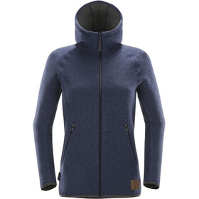 Haglöfs Whooly Hoodie Jacket Women tarn blue